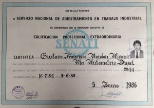 Certificado Mecanico GRA